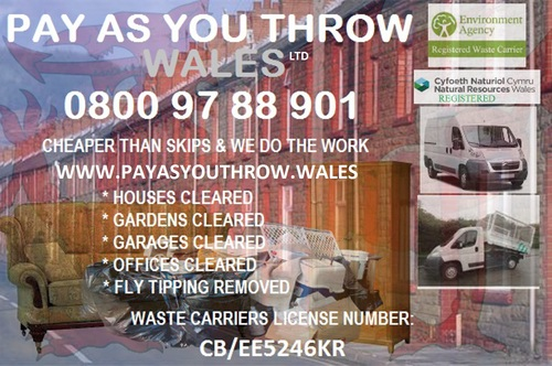 Pay As You Throw Wales Skip Hire Cwmbran Alternative House